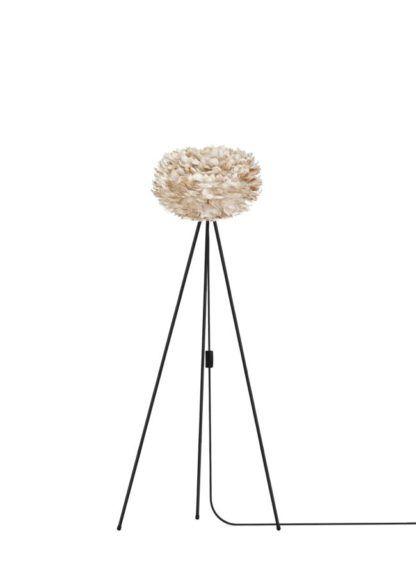 Lampa podłogowa - jasny brąz - Eos Light - trójnóg