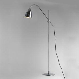 Lampa podłogowa Joel Astro Lighting chromowa