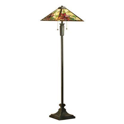 Lampa podłogowa Lelani - Interiors - szklana