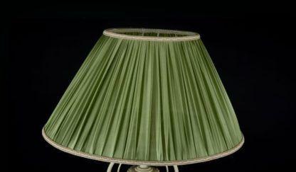 oliwkowy abażur do lampy podłogowej