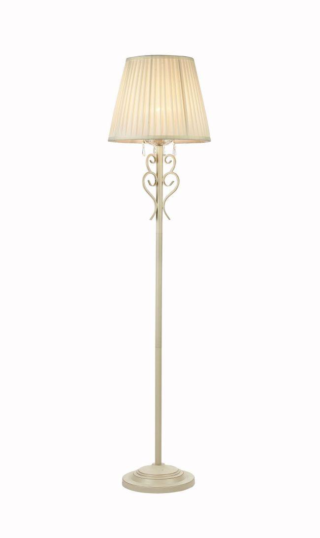 Lampa podłogowa Triumph - Maytoni - biały abażur