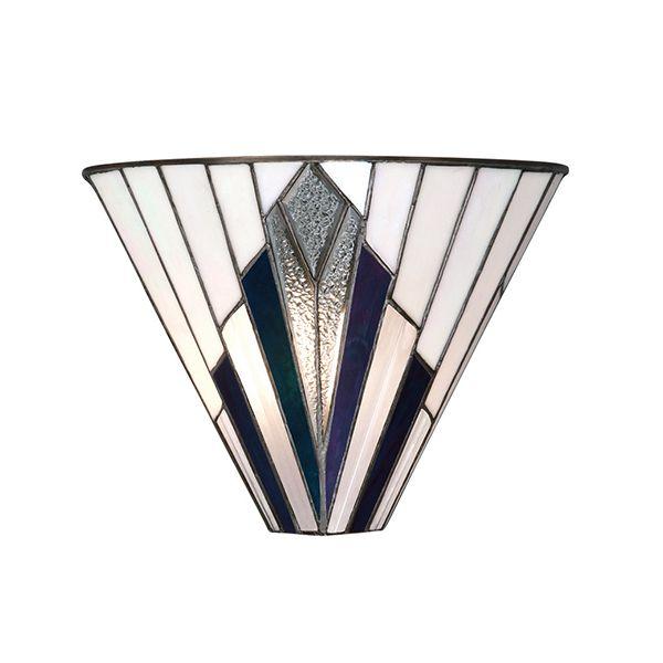 Lampa ścienna Astoria - Interiors - kolorowe szkło