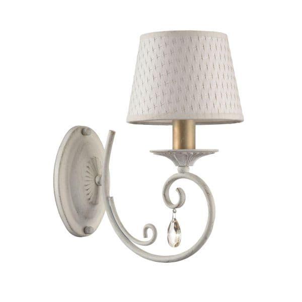 Lampa ścienna Enna - Maytoni - biały klosz