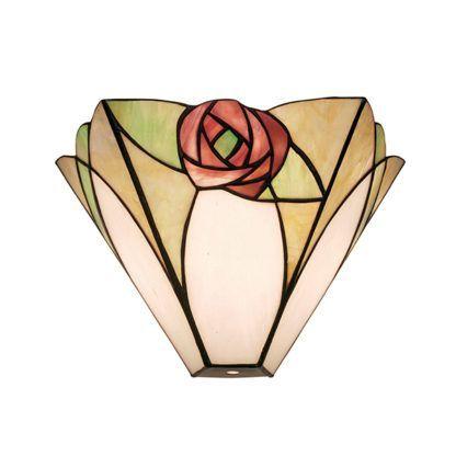 Lampa ścienna Ingram - Interiors - kolorowe szkło