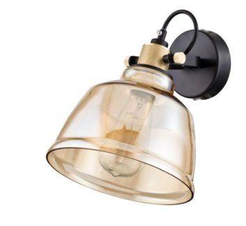 Lampa ścienna Irving - Maytoni - beżowe szkło