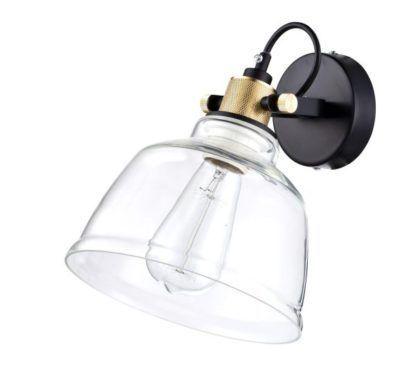 Lampa ścienna Irving - Maytoni - przezroczyste szkło