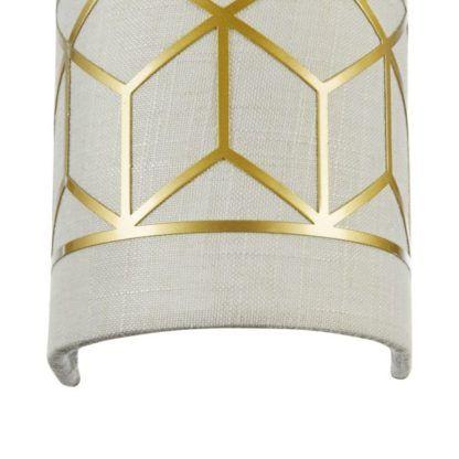 Lampa ścienna Messina - Maytoni - złota, beżowa