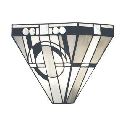 Lampa ścienna Metropolitan - Interiors - szklana