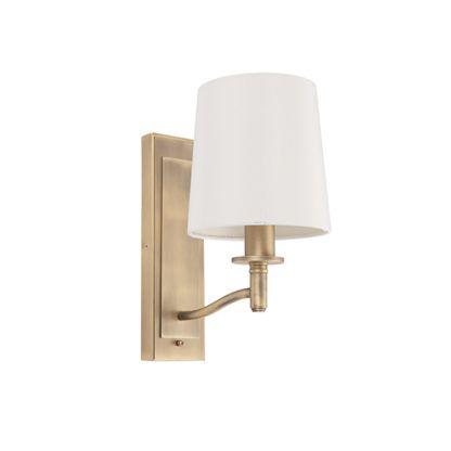 Lampa ścienna Ortona - Endon Lighting - biały, złoty