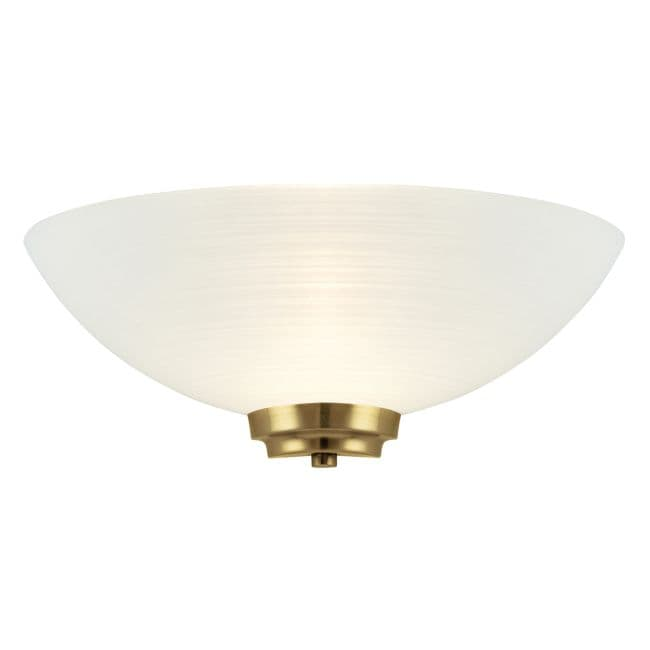 Lampa ścienna Welles - Endon Lighting - biała, złota