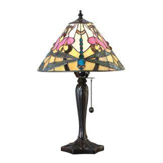 Lampa stołowa Ashton - Interiors - mała, szklana