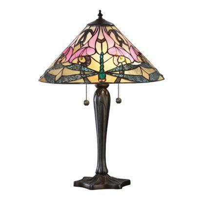 Lampa stołowa Ashton - Interiors - szkło