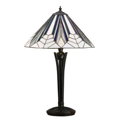 Lampa stołowa Astoria - Interiors - szkło witrażowe