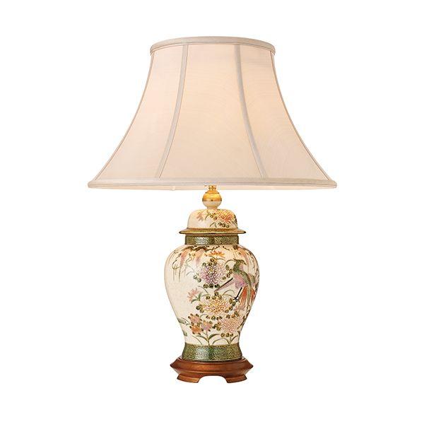 Lampa stołowa Birds and Wisteria - Kutani - Interiors - porcelana