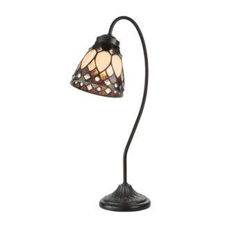 Lampa stołowa Brooklyn - Interiors - szklany klosz
