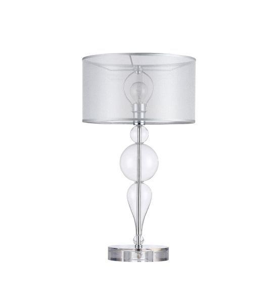 Lampa stołowa Bubble Dreams - Maytoni - srebrna