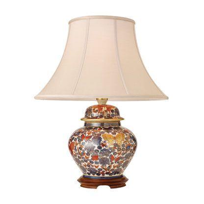 Lampa stołowa Butterflies - Kutani - Interiors - porcelana