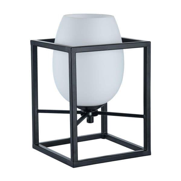 Lampa stołowa Cabin - Maytoni - biała, czarna