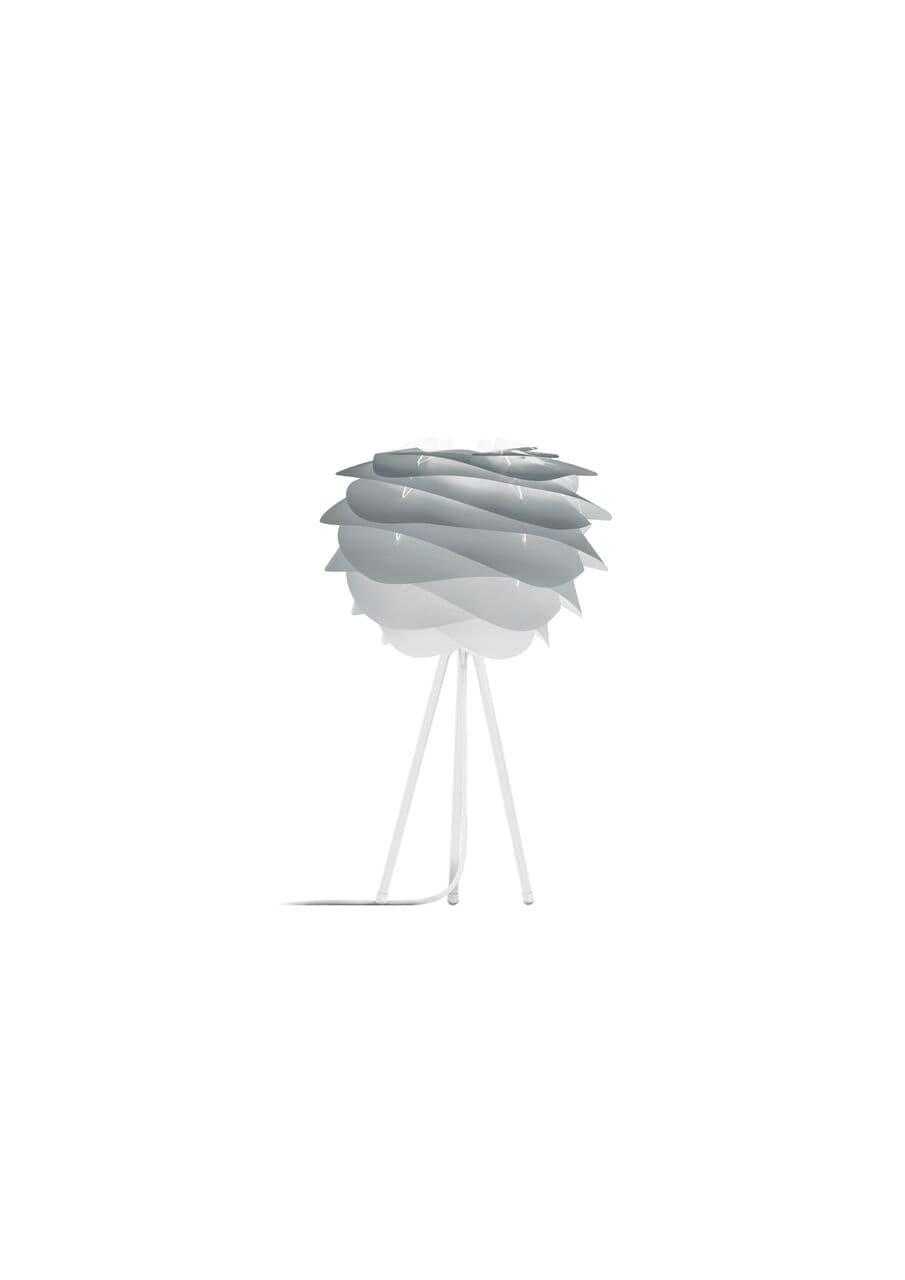 Lampa stołowa Carmina mini gradient Misty Grey Vita Copenhagen - tripod, szara
