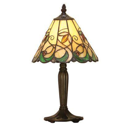 Lampa stołowa Jamelia - Interiors - szklana