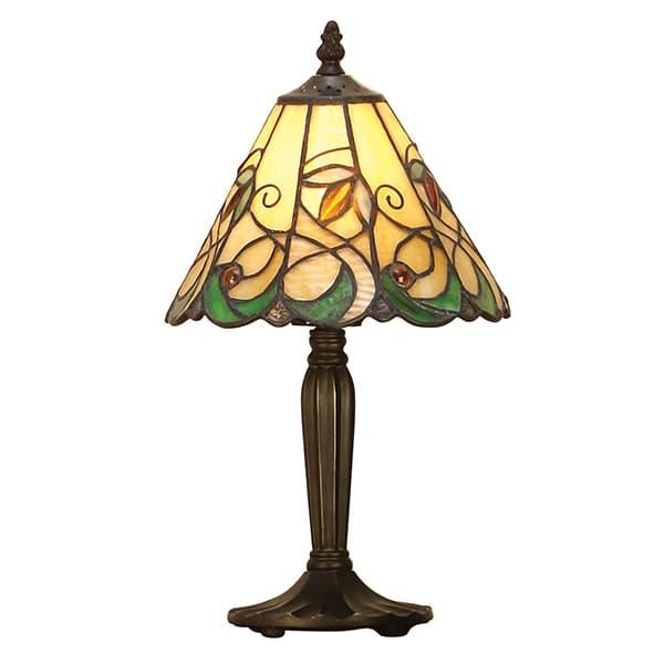 mała lampka stołowa do salonu lub sypialni