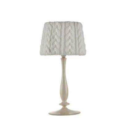 Lampa stołowa Lana - Maytoni - biała, beżowa