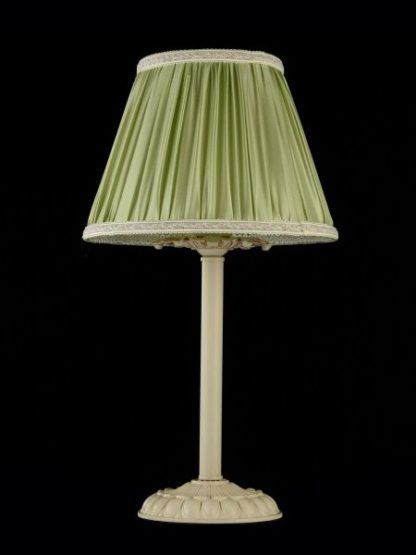 Lampa stołowa Olivia - Maytoni - zielona, kremowa