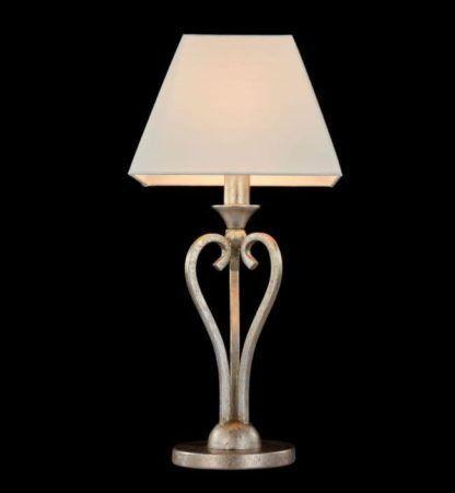 lampa stołowa z prostokątnym abażurem