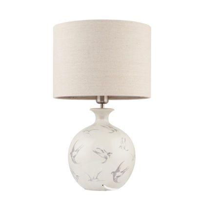 Lampa stołowa Sophia - Endon Lighting - szara