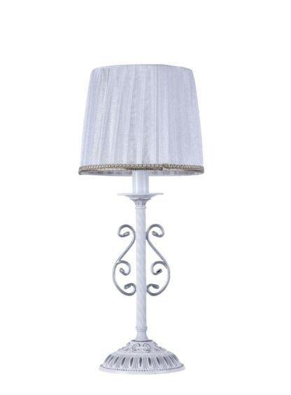 Lampa stołowa Sunrise - Maytoni - biały abażur