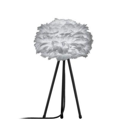 Lampa stołowa - tripod table - szara - Eos Light Mini