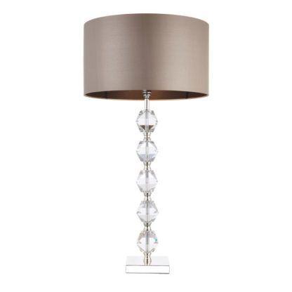 Lampa stołowa Verdone - Endon Lighting - szklana podstawa