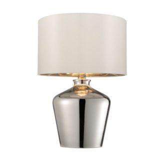 Lampa stołowa Waldorf - Endon Lighting - szkło, chrom