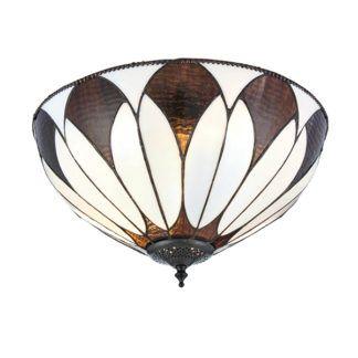 Lampa sufitowa Aragon - Interiors - szkło witrażowe