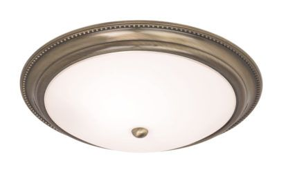 Lampa sufitowa Atlas - Endon Lighting - mosiądz, szkło