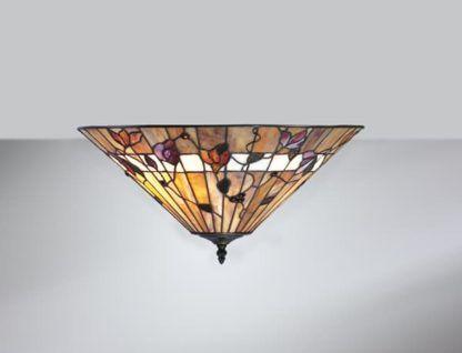 szklany plafon sufitowy w stylu Tiffany