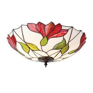Lampa sufitowa Botanica - Interiors - szkło witrażowe