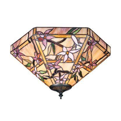 Lampa sufitowa Clematis - Interiors - szkło, kwiaty