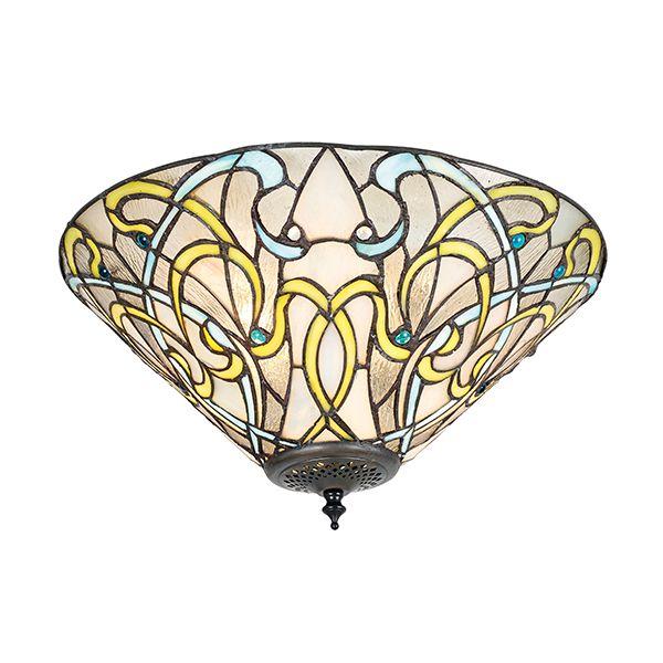 Lampa sufitowa Dauphine - Interiors - szklany klosz