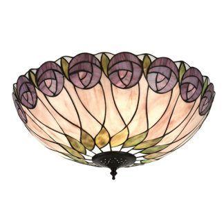 Lampa sufitowa Hutchinson - Interiors - szklana