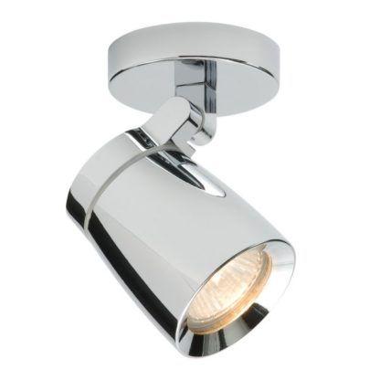 Lampa sufitowa Knight - Endon Lighting - srebrna, metalowa