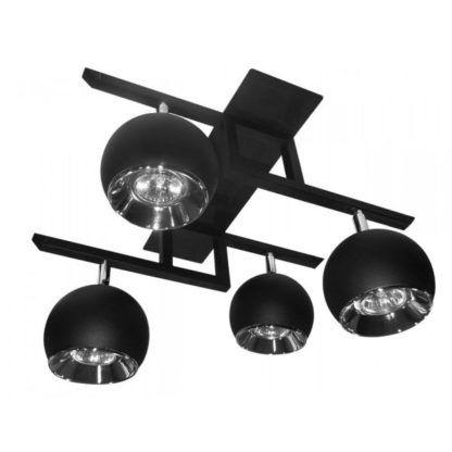 lampa sufitowa na cztery reflektory do kuchni lub salonu