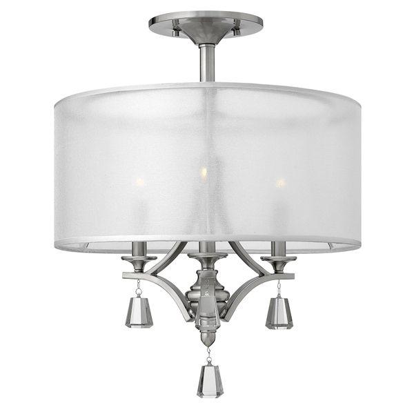 Lampa sufitowa Mona z ozdobnymi kryształami - Ardant Decor