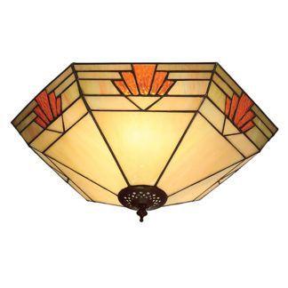 Lampa sufitowa Nevada - Interiors - szklany klosz