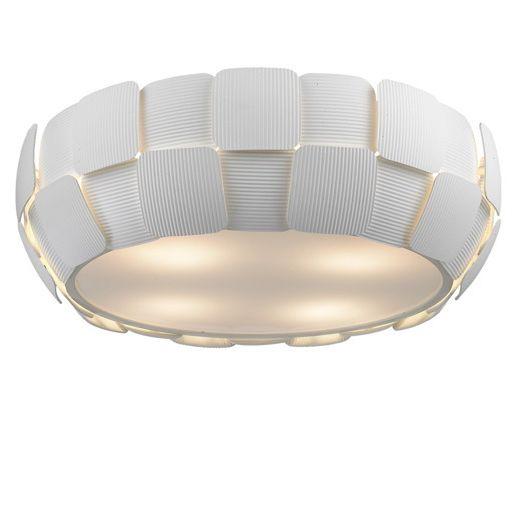 Lampa sufitowa - Sole plafon mały - Zuma Line - pcv - biała