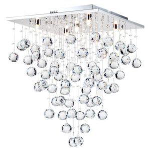 Lampa sufitowa Swirl 40 - Maytoni - kryształki