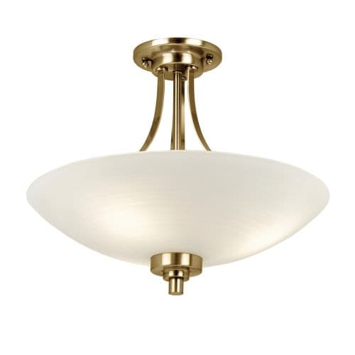 Lampa sufitowa Welles - Endon Lighting - biała, złota