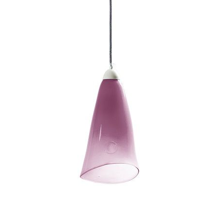 szklana lampa do nowoczesnych aranżacji