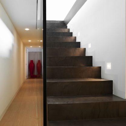 lampa ścienna, lampa do wbudowania w ścianę, styl nowoczesny