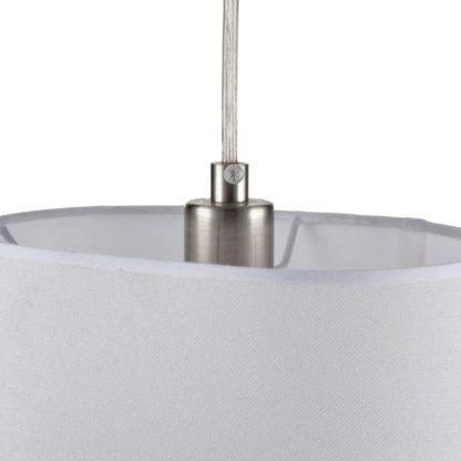 Lampa wisząca Altea - Maytoni - biały klosz